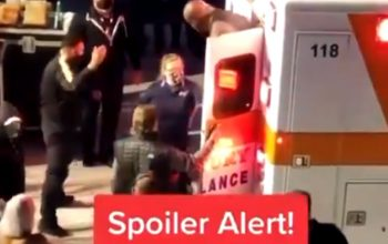 Video Surfaces Of Shaq Leaving Ambulance After AEW Match