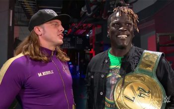 R-Truth Interested In Tag Team Run With Matt Riddle