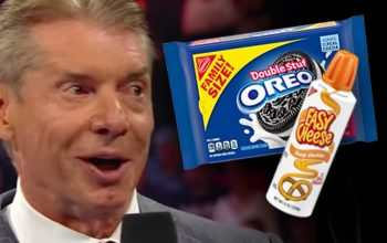 Vince McMahon Allegedly Loves Eating Oreos Covered In Squeezed Cheese