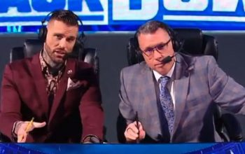 Corey Graves Tells Fans To Leave Michael Cole Alone After WrestleMania 37 Botch