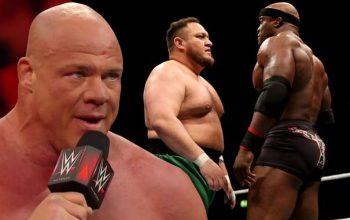 Kurt Angle Wanted To See Samoa Joe Challenge Bobby Lashley For WWE Title