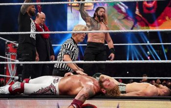 WrestleMania 37 Main Event Producer Reveals What Made The Match So Unique