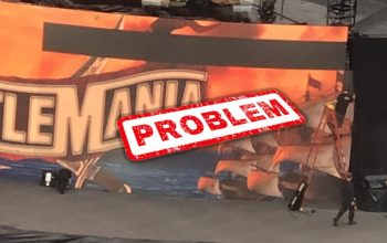 WWE Crew Rushed To Fix Broken Set Before WrestleMania Night Two