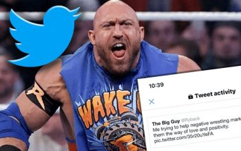 Ryback Posts Proof That Twitter Is Suppressing Him In A Big Way
