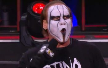 Sting Says 'This Is The Best Wrestling I Have Ever Seen' After AEW Dynamite This Week