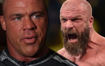 Kurt Angle Denies Rumors Of Triple H Slandering His Name In WWE Meetings