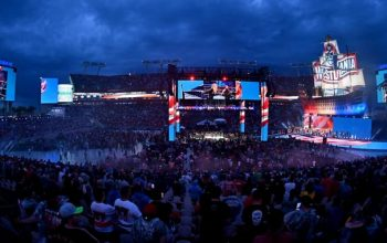 WWE Announces 'Sold Out' Fan Attendance Number For Night One Of WrestleMania 37