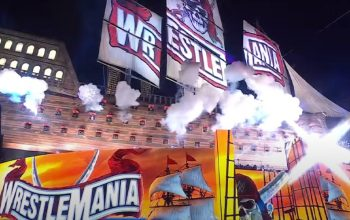 First Full Video Look At WWE WrestleMania Stage