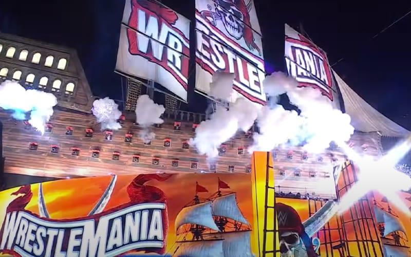 wrestlemania-set