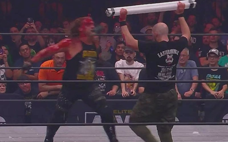 AEW Used 'Gimmicked' Weapons During Chris Jericho vs Nick Gage Blood Bath