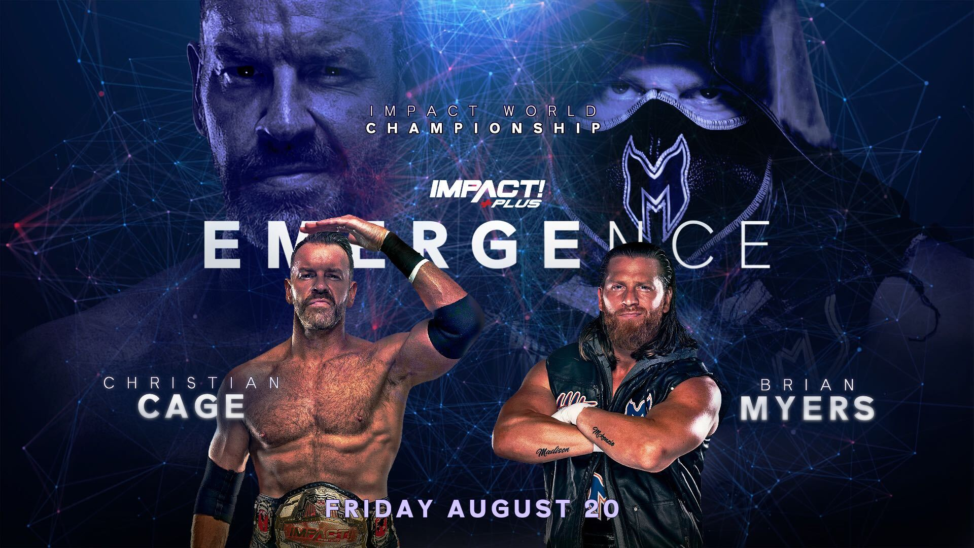 Christian Cage Brian Myers Emergence