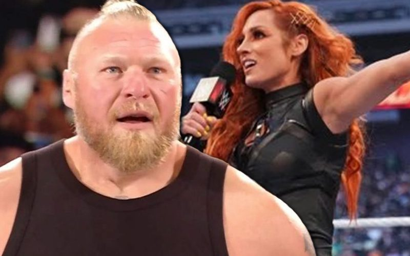 USA Network Not Happy About RAW Losing Brock Lesnar & Becky Lynch