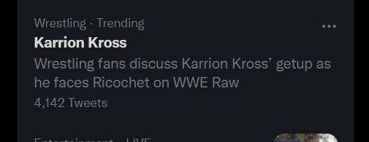 Karrion Kross come la RETRIBUTION? Internet lo prende in giro